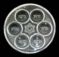Seder Plate for Waterford Crystal